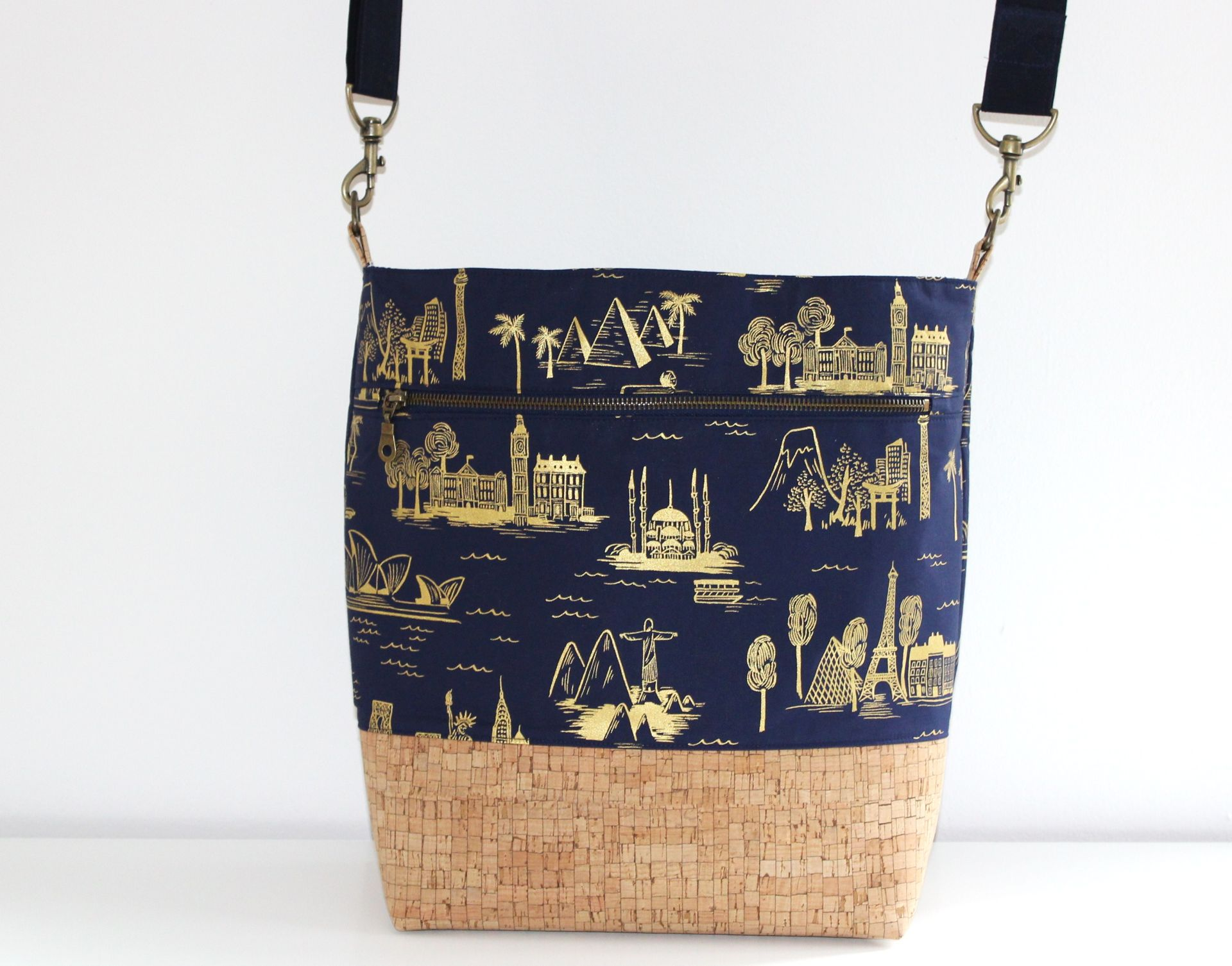 City Toile Navy