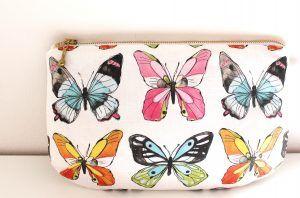 nähen, Tasche, Schmetterlinge
