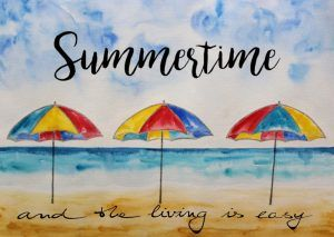 Aquarell Summertime