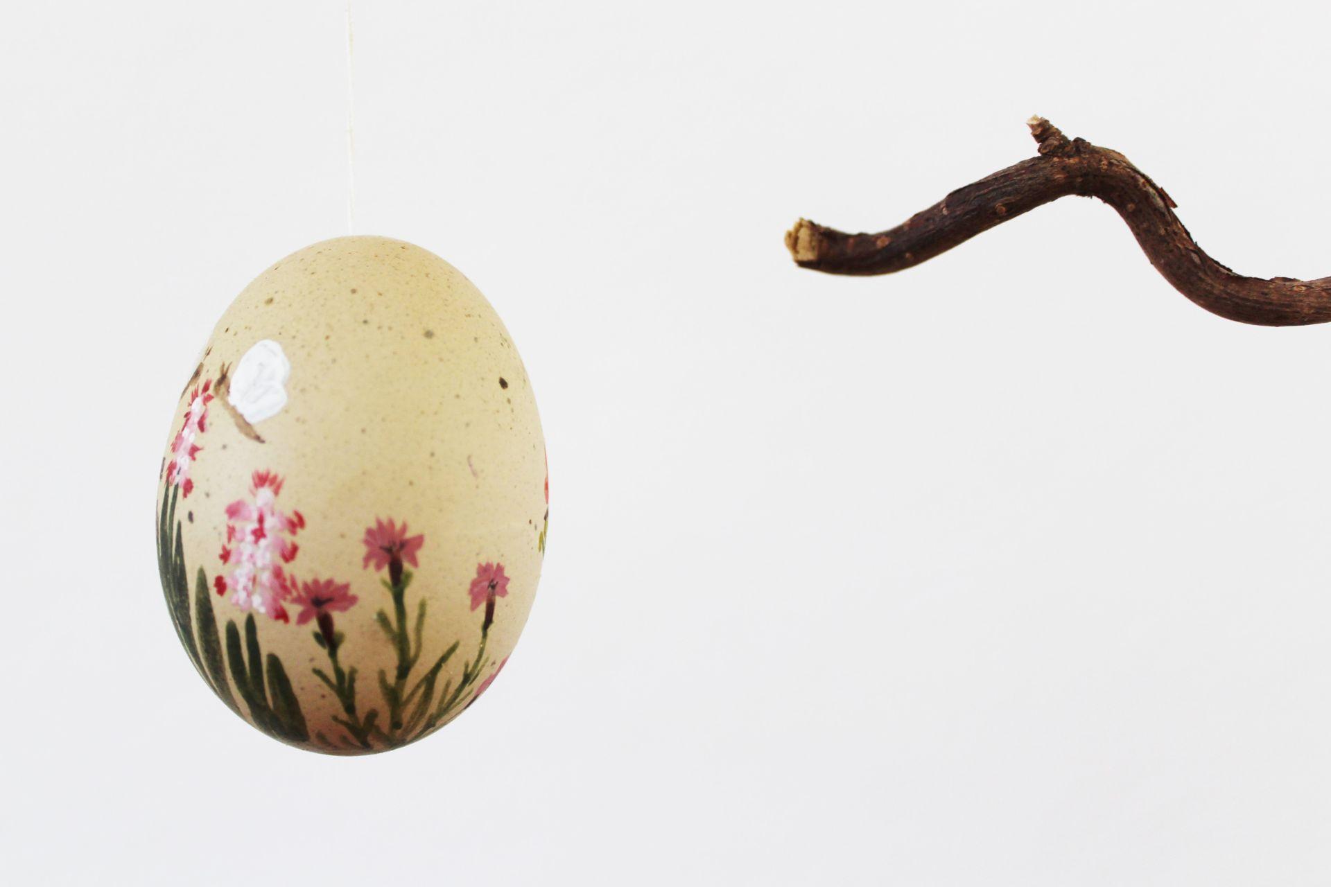 Ostereier DIY Wasserfarbe