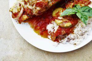 Rezept vegetarische gefüllte Zucchini