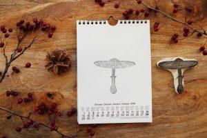 selbstgebastelter Kalender