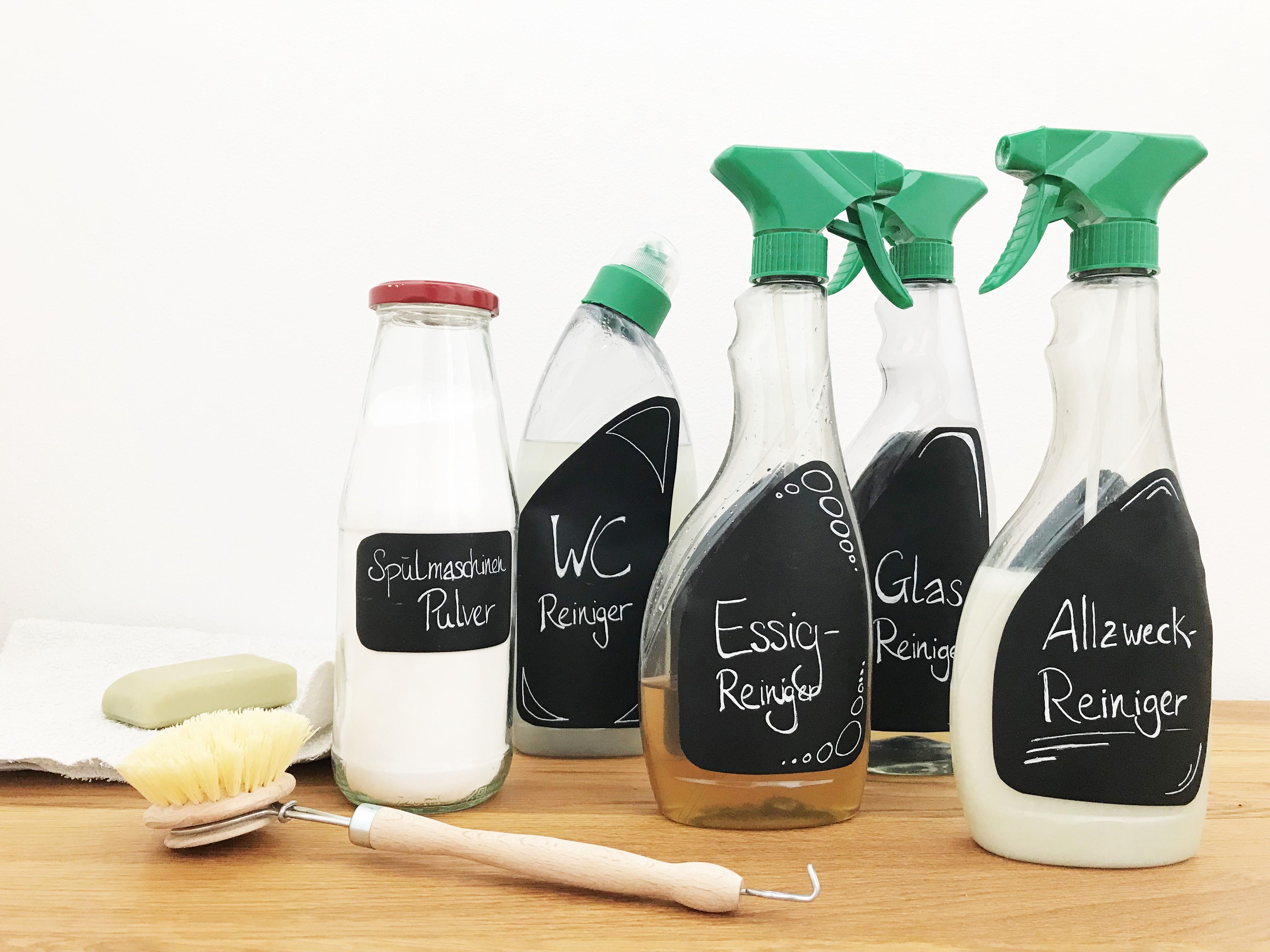 Putzen ohne Plastik