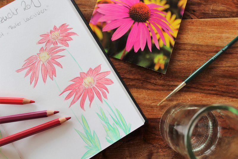 Gartentagebuch DIY